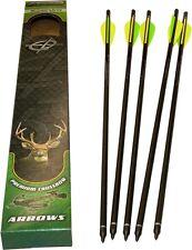 Barnett 22-Inch 16079 Carbon Crossbow Arrows With Field Point/Moon Nock