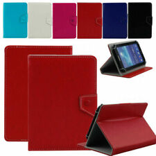 """Premium Universal 7"""" Folio Stand Leather Case Cover Skin For 7-inch Tablet"""