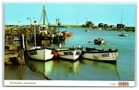 Postcard The Harbour Southwold Suffolk