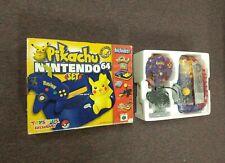 Pikachu Nintendo 64 Set  N64 Pokemon Console (Brand NEW!) ...TOyS R US Version!!