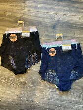 Women's Size Medium Bundle, Includes 6 Pairs Of Panties NEW Lace Boyshorts