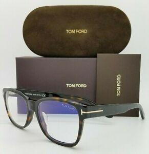 NEW Tom Ford Blue Block FT5535D-B/V 052 56mm Tortoise Classic AUTHENTIC FT5535D