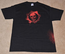 NEW! GEARS OF WAR (Original) Emergence Day 2008 OMEN T-Shirt BLACK Large GOW L