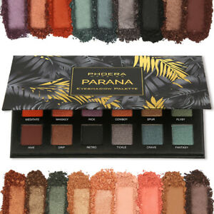 18 Colours Professional High Pigmented Quality Eye Shadow Palette Cosmetics UK