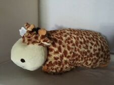 "Large GIRAFFE PET PILLOW, 18"" inches ""Plush & Plush"" Brand my Plush Jolly Friend"