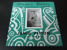 "JANIG PETTON   EP 45T 7""   MOUEZ BREIZ 4566   ETAT NEUF"