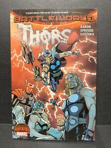 MARVEL Secret Wars Battleworld Thors