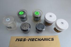 Eine Spannzange ER40 auch Übergrößen bis 32 mm Rundlauf  0.008 oder 0.015
