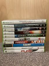 10 Xbox 360 Games Bundle