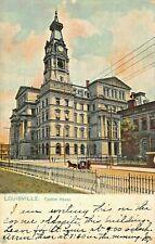 LOUISVILLE KENTUCKY~CUSTOM HOUSE~1907 TUCK SERIES POSTCARD