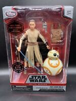 Star Wars Elite Series Die Cast Action Figures Disney Store Rey And Bb-8