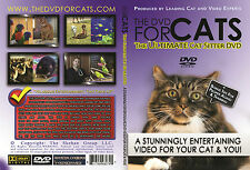 DVD FOR CATS, THE: The Ultimate Cat Sitter DVD (A DVD Video for Cats to Watch)
