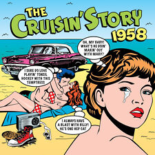 Cruisin' Story 1958 VARIOUS ARTISTS Best Of 50 Essential Songs MUSIC New 2 CD