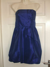 FITS SIZE 12 WOMENS BLUE DRESS PROM COCKTAIL Summer Party Ladies Smart Evening