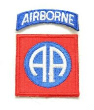 WW2 US 82nd Airborne Sleeve Patch - USA Paratrooper insignia