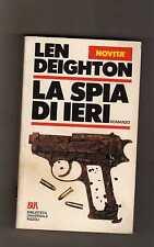 la spia di ieri - len deighton  - sottocosto 7 euro - boxstock14 -