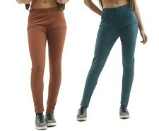 Ladies Ex Sea Salt Slim Jeggings Womens Stretch Jeans Skinny Pull On Plus Size
