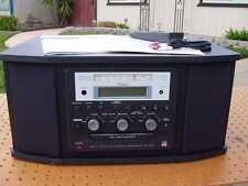 TEAC GF-350 CD RECORDER SYSTEM 3 SPEED TURNTABLE AM/FM RADIO REMOTE MANUAL NICE