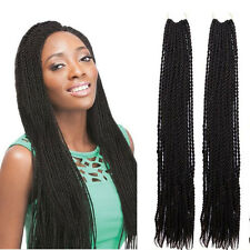 "18"" 70g Synthetic Havana Mambo Senegalese Crochet Twist Braids Kanekalon Hair"