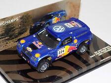 1/43 Minichamps Volkswagen Race Touareg #224 Paris Dakar 2004 436 045324