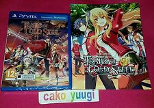 THE LEGEND OF HEROES TRAILS OF COLD STEEL II SONY PS VITA NEUF FR TEXTE ANGLAIS