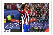 ANTOINE GRIEZMANN ATLETICO MADRID AUTOGRAPH SIGNED PHOTO PRINT SOCCER