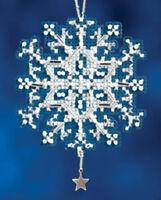 Mill Hill Beads Cross Stitch Kit 2.5 x 2.5 in ~ STAR CRYSTAL #16-2302 Sale