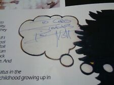 THIN LIZZY AUTOGRAPH SIGNED RENEGADE 1981 TOUR PROGRAMME..GREAT SIGNATURES