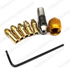 0.5-3mm Small Electric Drill Bit Collet MicroTwist Drill Chuck Set WITHOUT MOTOR