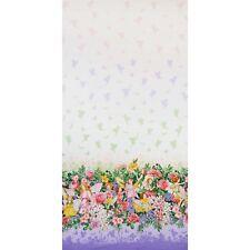 Michael Miller Flower Fairies Fairy Dream Border Blossom Fabric
