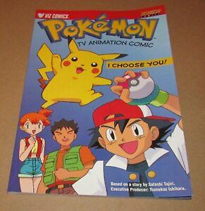 Pokemon TV Animation Comic: I Choose You 1999 Nintendo Power Comics