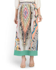 RARE NWT ETRO Made In Italy Silk Printed Maxi Skirt Size 42  Retail Value $1295