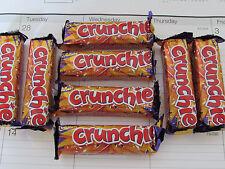 8 x 1oz Cadbury CRUNCHIE BARS (Made in UK)