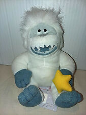 """Vintage 1998 Cvs 6"""" Abominable Snowman Limited Edition Bean Bag With Tag"""