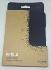 Amazon Kindle Leather Cover, Black (Does Not fit Paperwhite, Touch or KeyBoard