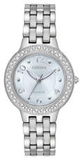 $350 Citizen FE2080-64L Silhouette 31MM Women's Stainless Steel Watch