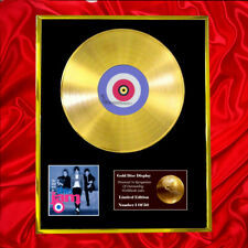 THE JAM VERY BEST OF CD GOLD DISC RECORD LP PLATED