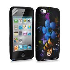Housse coque étui en gel pour Apple Ipod Touch 4G avec motif + Film