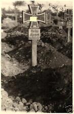 3776/ Originalfoto 9x13cm Deutsches Soldatengrab, 1943