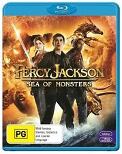 Percy Jackson: Sea Of Monsters : NEW Blu-Ray