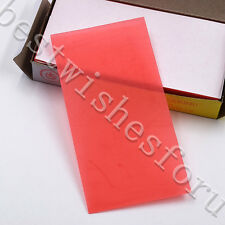20 Pcs Thickness 1.3mm Dental Utility Base Plate Red Wax Sheets Modeling Tablets