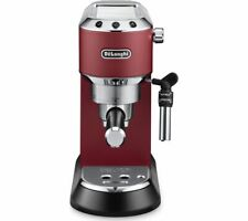 De'Longhi EC685.R 1450W 1L Dedica Ground Coffee & Pod Automatic Coffee Machine