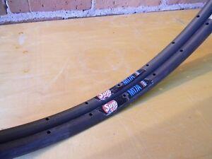 Sun M17A Sew-Up Track Rims NOS 80s 36h Gray 700c, 17mm wide 335g USA Bicycle