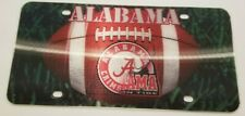 Alabama Crimson Tide License Plate 3D Hologram Dual Logo Car Tag Licensed NCAA