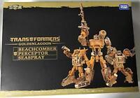 Transformers Golden Lagoon Beachcomber Perceptor Seaspray Set w/ Tracking NEW