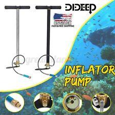 Dideep Scuba Diving Oxygen Air Tank Reserve Hand Pump Summer Operated