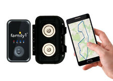 Family1st 4G LTE GPS Real-Time Tracker with Water Resistant Magnetic Case
