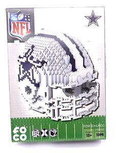 Dallas Cowboys BRXLZ Team Helmet 3D Toy Puzzle 1395 Pcs Set