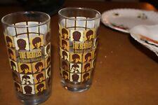 The Beatles Hard Days Night Set Of 2 Drinking Glasses 12 oz