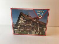 """NEW Puzzle Gottlieben Schweiz 500 Pieces Fully Interlocking 15"""" x 20"""" Diset"""